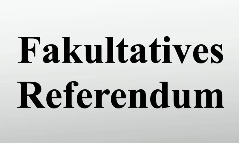Fakultatives Referendum